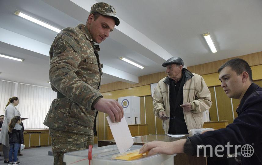 В Армении начались выборы в парламент. Фото AFP