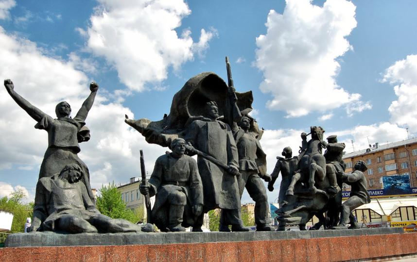 Памятник Героям Революции 1905-1907 годов, Москва. Фото google.ru/maps