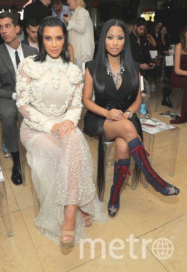 Ники Минаж и Ким Кардашьян. Фото Getty
