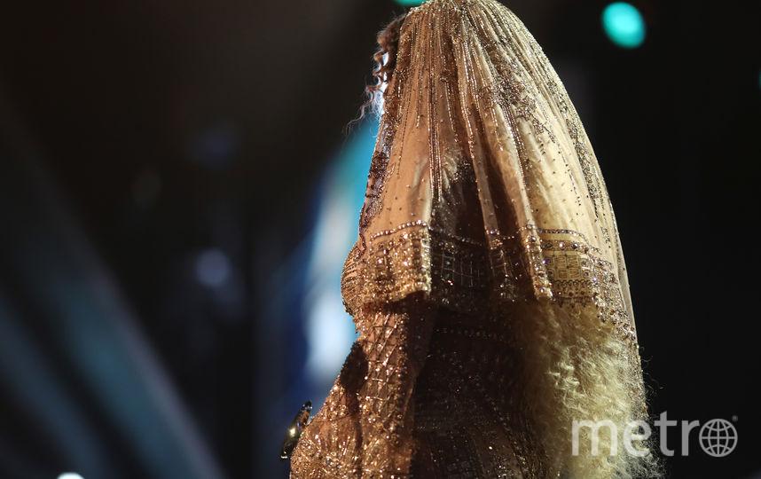 Беременная Бейонсе покорила Instagram новым облегающим платьем. Фото Getty