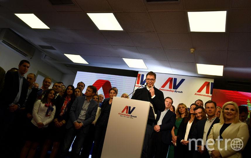 Выборы в Сербии. Фото AFP