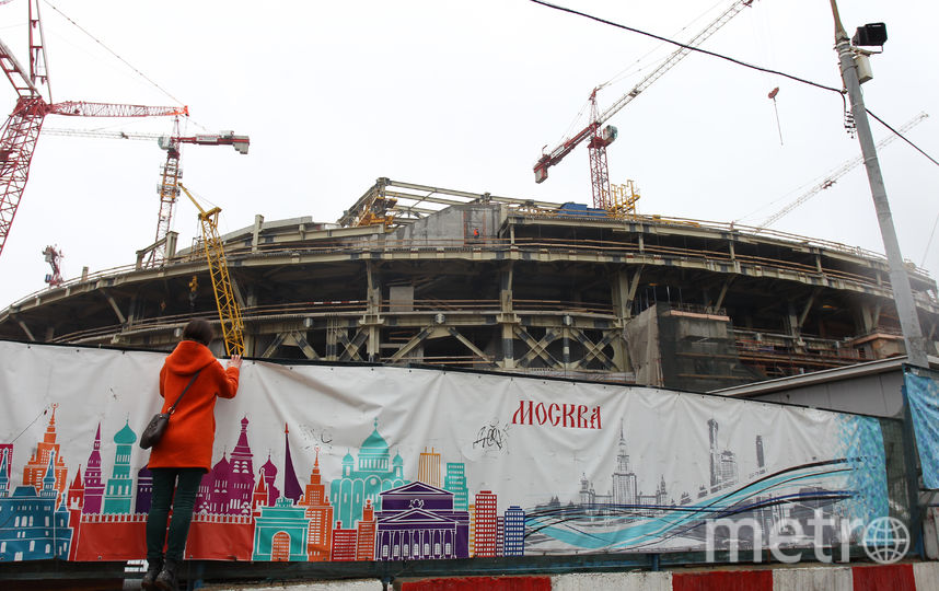"стадион ""Динамо"". Фото Василий Кузьмичёнок, ""Metro"""