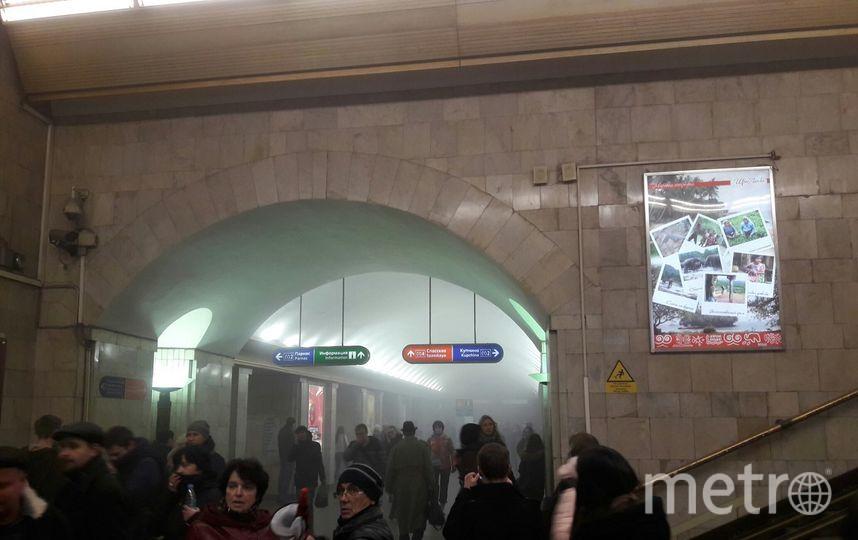 В Петербурге организовано лечение пострадавших в результате взрыва. Фото «ДТП и ЧП | Санкт-Петербург», vk.com