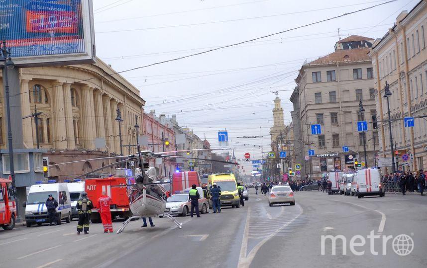 """Наземный транспорт Петербурга работает в усиленном режиме. Фото """"Metro"""""""