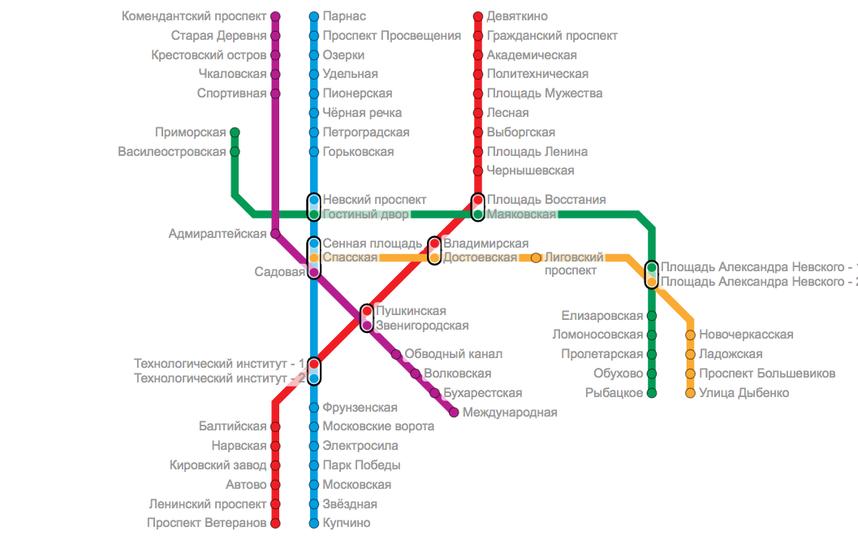 Скриншот: Яндекс.Метро.