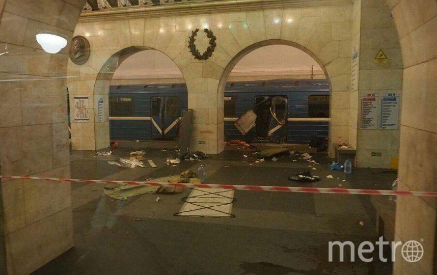 Правоохранители считают, что террорист-смертник впитерском метро действовал отдельно