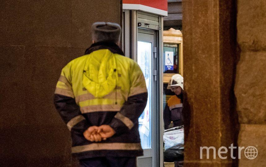 """У станции """"Технологический институт"""". Фото """"Metro"""""""