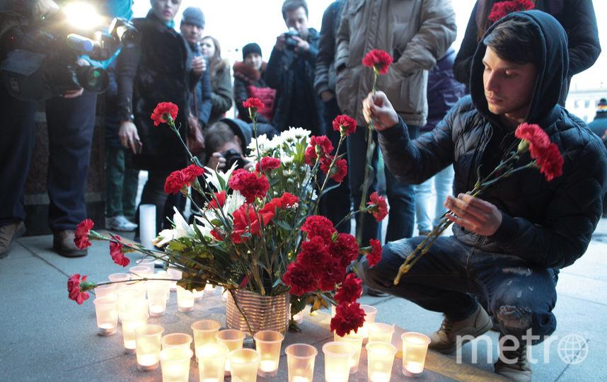 "Страна в шоке от теракта в Петербурге. Фото Святослав Акимов., ""Metro"""