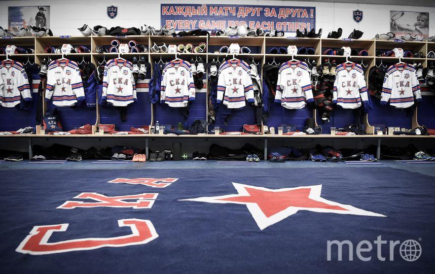 СКА высказал слова поддержки семьям пострадавших. Фото Сергей Федосеев, photo.khl.ru