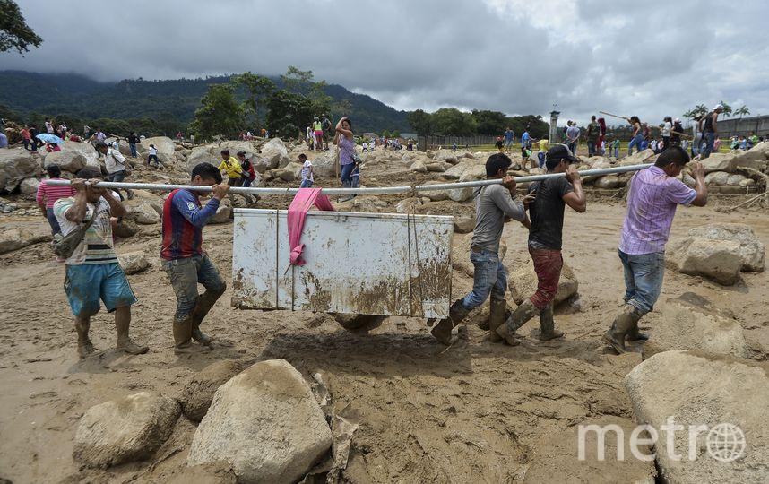 Число жертв оползня в Колумбии превысило 270 человек. Фото AFP