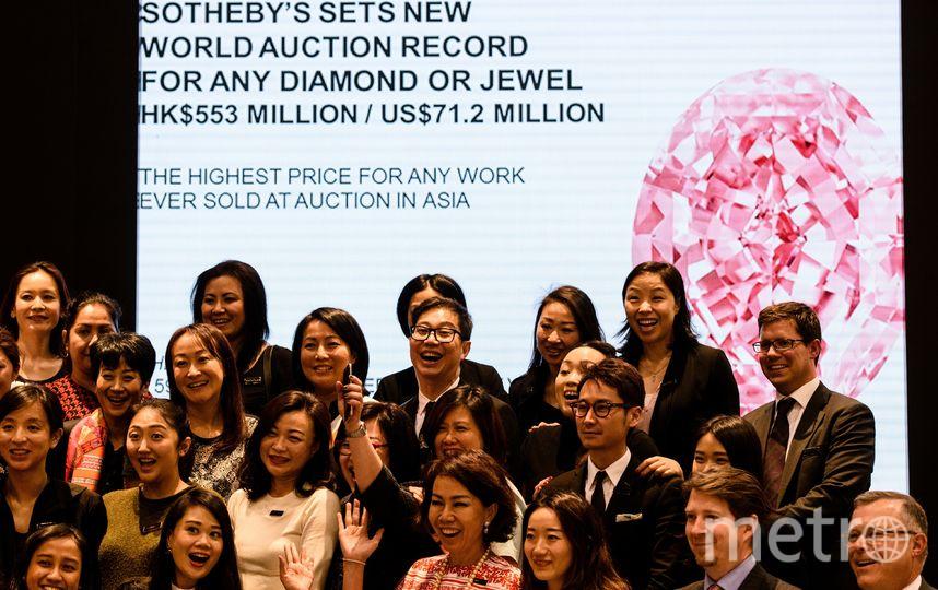 Аукцион в Гонконге. Фото AFP