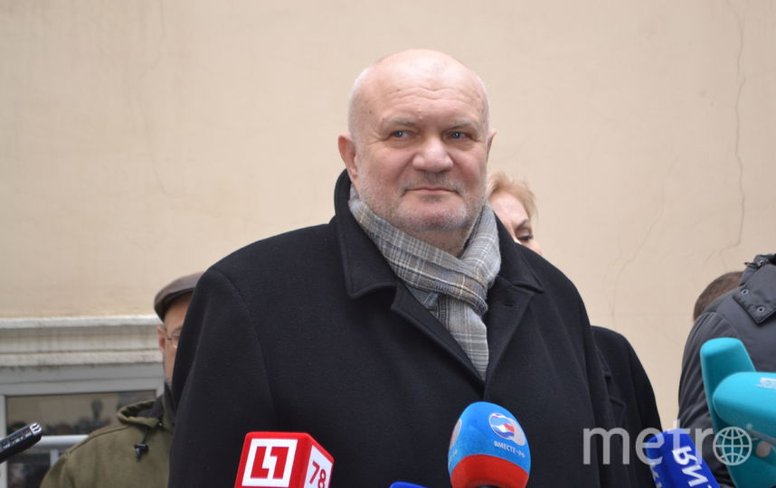 """Владимир Гарюгин. Фото Ольги Рябининой, """"Metro"""""""