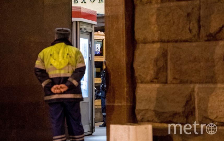 """Взрывное устройство на Площади Восстания"""" обезвредила группа профессионалов, а не один человек. Фото """"Metro"""""""