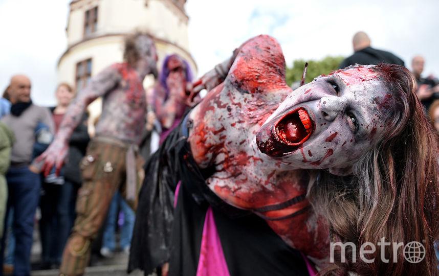 Парад зомби в Германии. Фото Getty