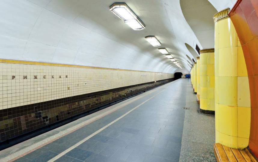 """Станция метро """"Рижская"""". Фото google.ru/maps."""