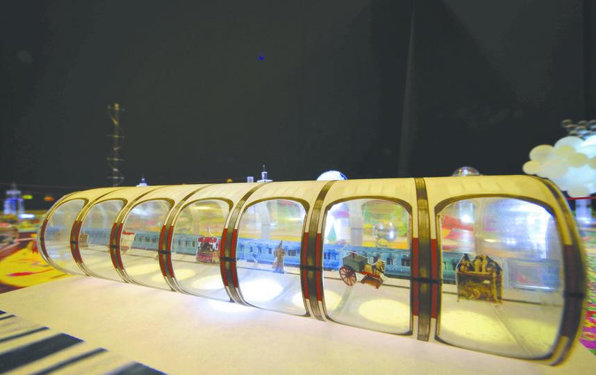 Путешествовать во времени придётся на метро. Фото Пресс-служба АО ВДНХ.