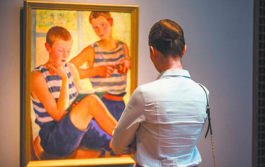 Выставка Зинаиды Серебряковой. Фото Василий Кузьмичёнок