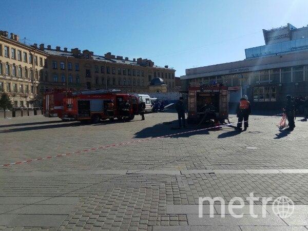 """соцсети - """"Сенная"""" утром 5 апреля. Фото vk.com"""