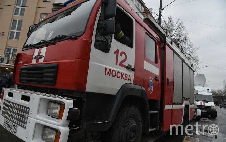 В российской столице из-за возгорания вшколе эвакуировали неменее 700 человек