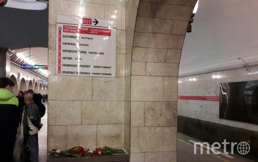 """Троих пассажиров петербургского метро во время теракта выбросило в тоннель. Фото """"Metro"""""""