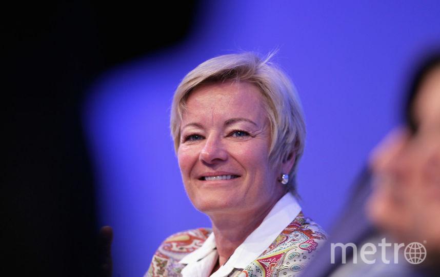 Глава Европейского вещательного союза (ЕВС) Ингрид Делтенре. Фото Getty
