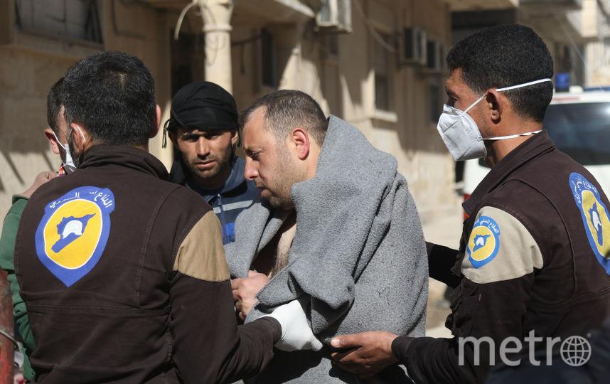 Последствия химатаки в Сирии. Фото AFP
