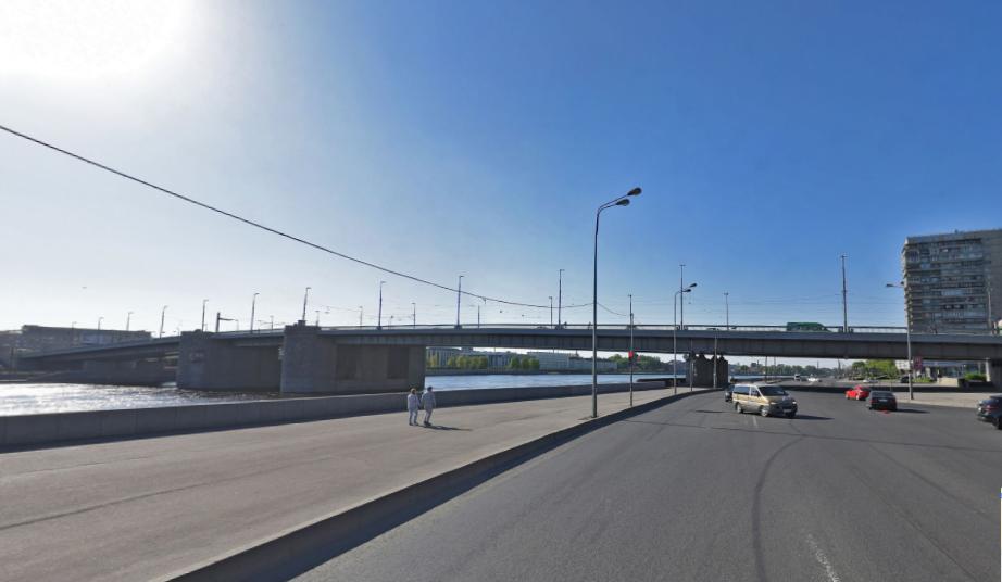 Володарский мост. Фото скриншот Яндекс.Панорамы.