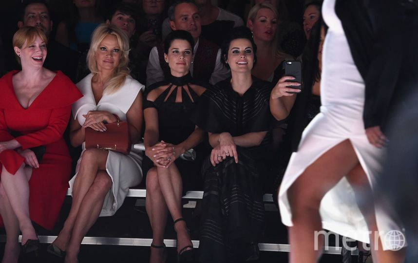 Памела Андерсон возбудила поклонников пикантным фото в Instagram. Фото Getty