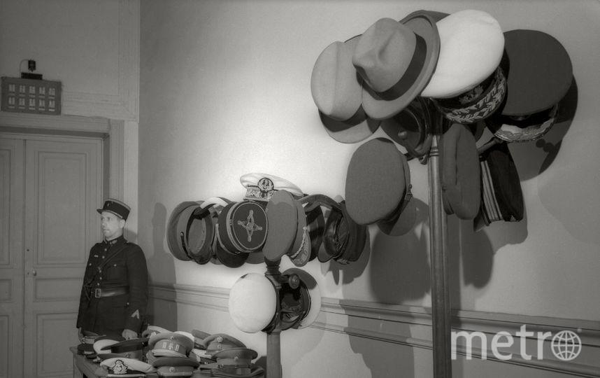 Головные уборы участников Потсдамской конференции. Июль. 1945. Фото представлены Анной Халдей.