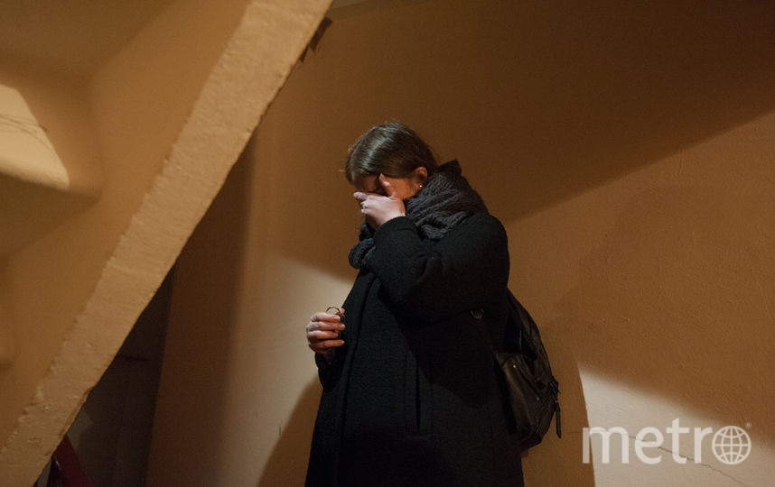 "В доме, где жил предполагаемы террорист. Фото Святослав Акимов, ""Metro"""
