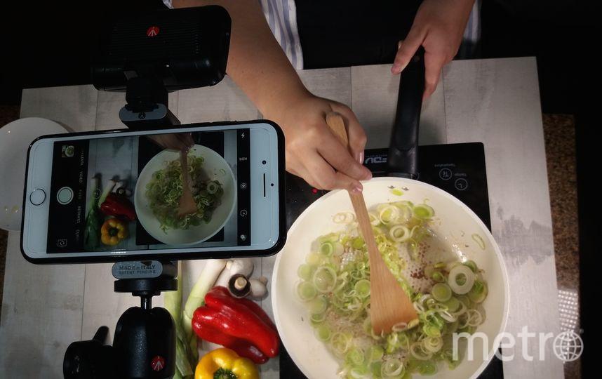 Приготовление одного из блюд. Фото Instagram/sagrosso