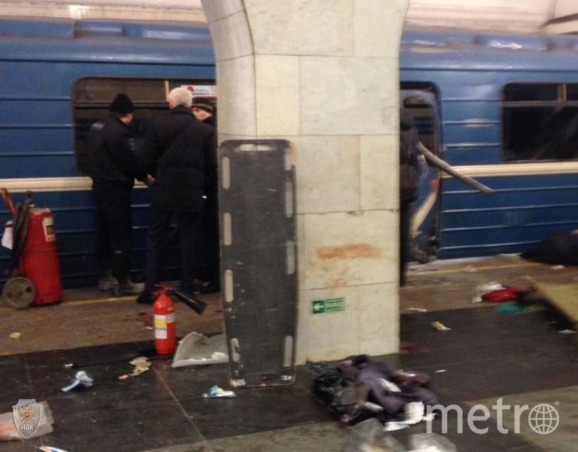 """Теракт в метро Петербурга 3 апреля. Фото """"Metro"""""""