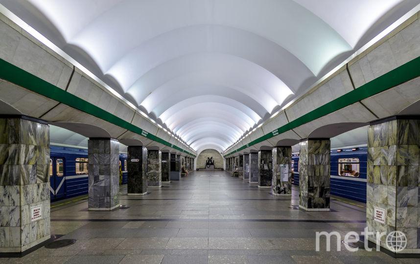 Станция метро «Приморская» закрыта на вход и выход в Петербурге. Фото wikimedia.org: Alex 'Florstein' Fedorov