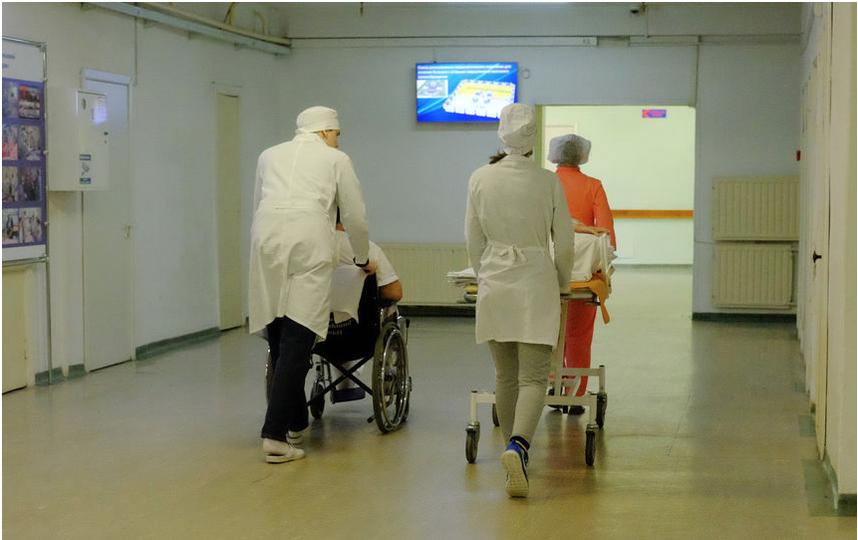 """В НИИ Джанелидзе. Фото Алены Бобрович, """"Metro"""""""