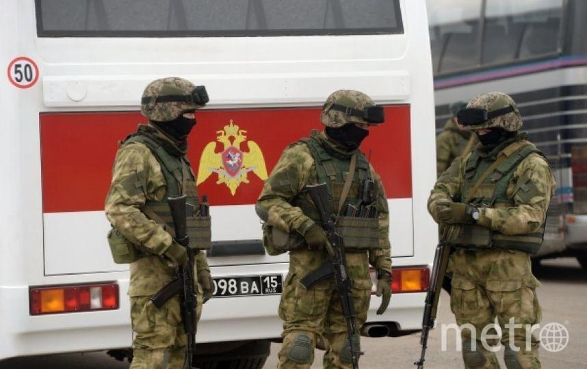 Бойцы Росгвардии. Фото РИА Новости