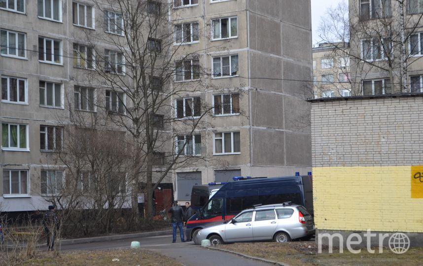 "Фото с места происшествия на Товарищеском проспекте. Фото Ольга Рябинина, ""Metro"""