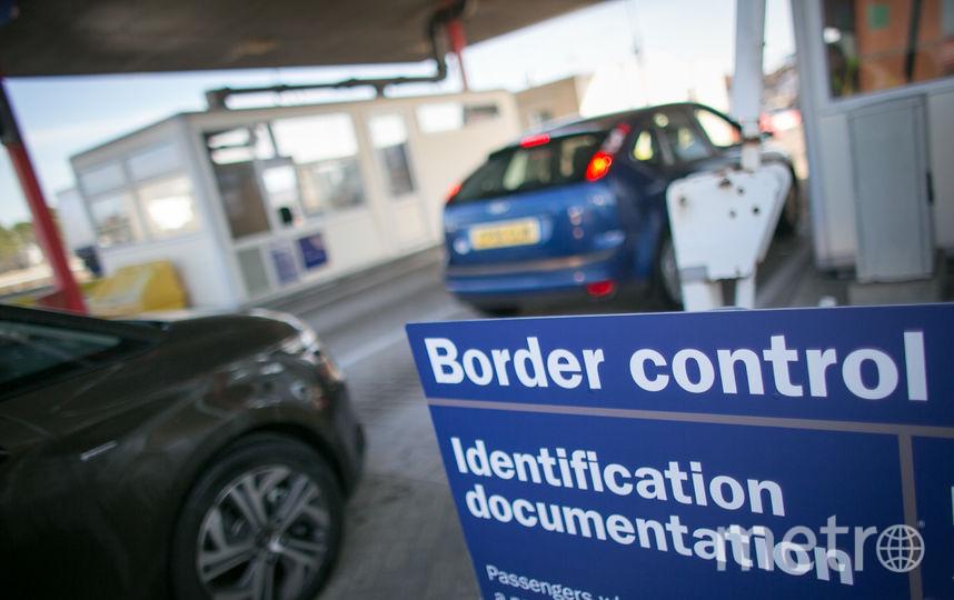 Граница ЕС. Фото Getty