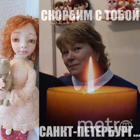 Художницу Ирину Медянцеву похоронили в Петербурге. Фото vk.com