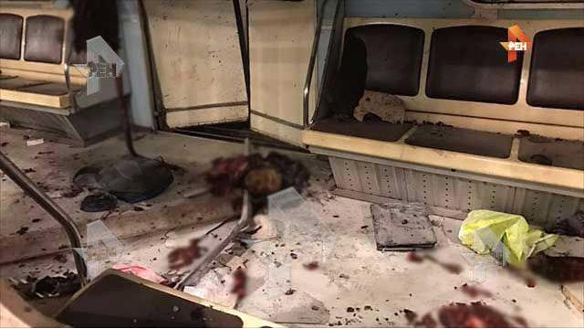 В Сети появились фото из взорванного вагона в метро Петербурга. Фото ren.tv