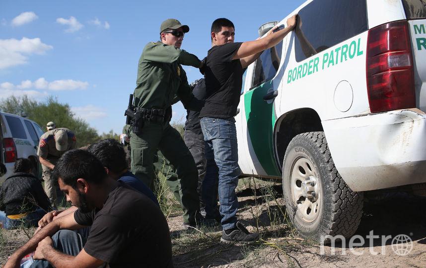 Пограничная служба США на границе с Мексикой. Фото Getty