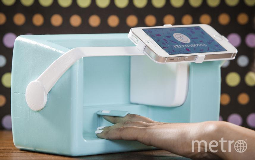 Устройство для дизайна ногтей Nailbot. Фото PREEMADONNA