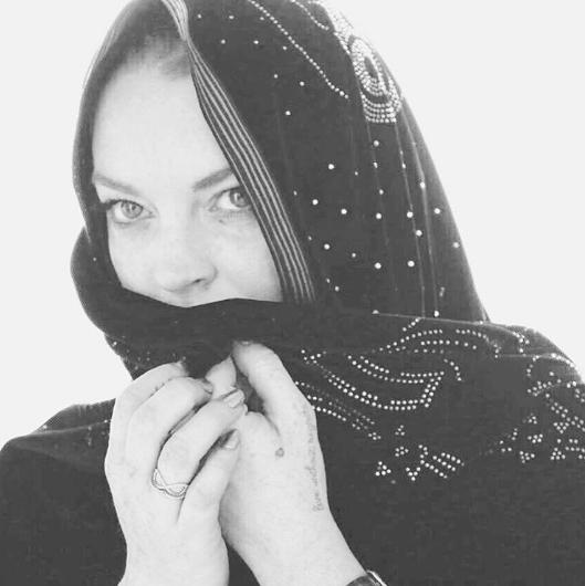 Линдси Лохан. Фото www.instagram.com/lindsaylohan
