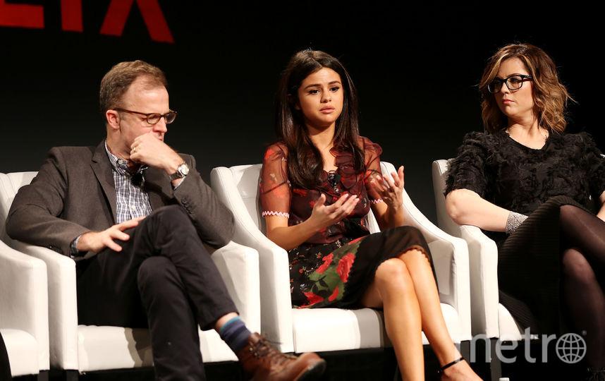 """Селена Гомес - продюсер сериала """"13 причин почему"""". Фото Netflix"""