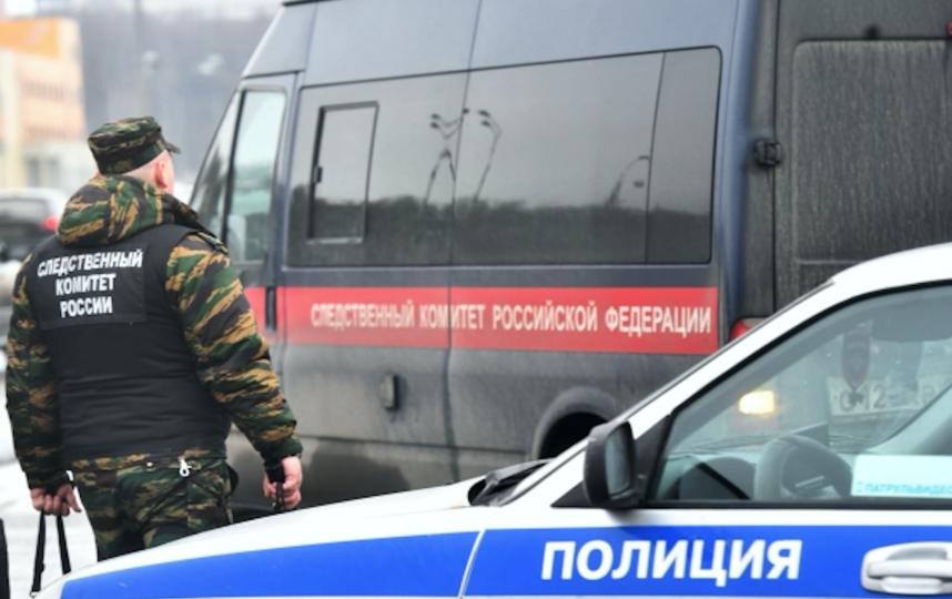 Сотрудник следственного комитета России. Фото РИА Новости