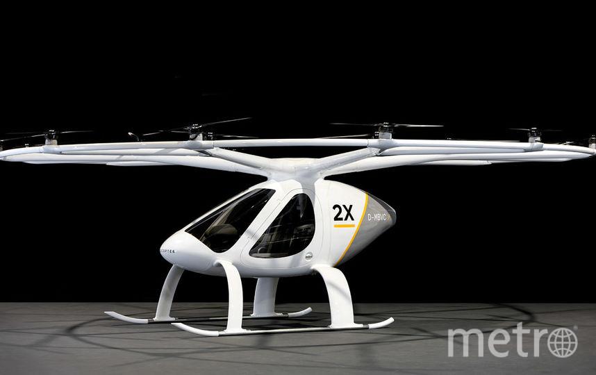 Так выглядит модель Volocopter 2X. Фото e-volo