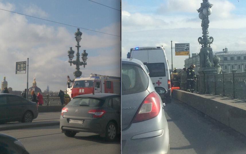 Петербурженка пробовала сброситься сТроицкого моста