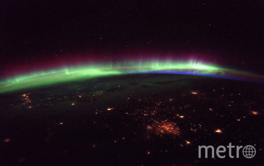 Удивительное зрелище из космоса. Фото ESA/NASA