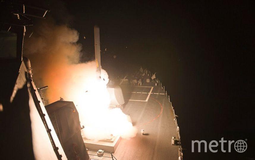 Удар США по Сирии. Фото Getty