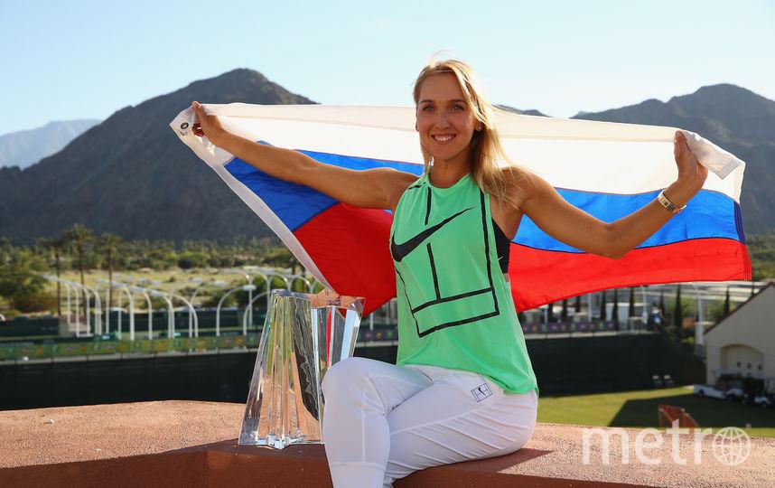 Елена Веснина. Фото Getty