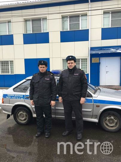 В Приозерске стражи порядка спасли утопающего. Фото Пресс-служба ГУ Росгвардии по СПб и ЛО